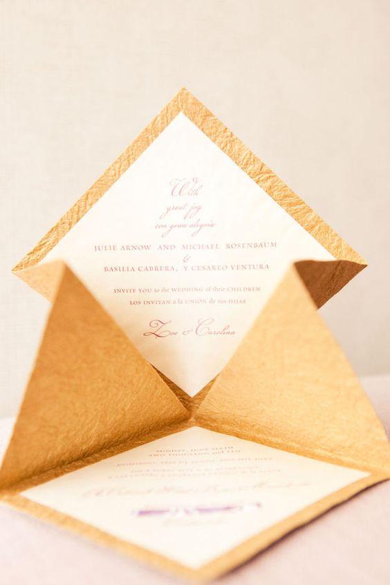 invitaciones 3D, papelería de boda y originales